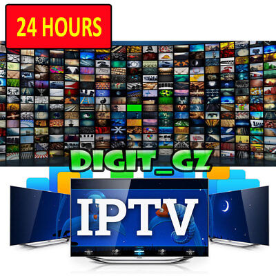 24 Hours Trial IPTV Service Warranty For MAG OPENBOX V8S ZGEMMA FIRESTICK TV BOX