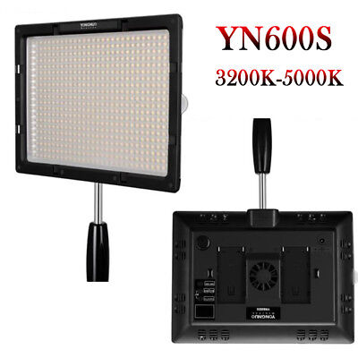 Yongnuo YN600S Pro LED Video Light Studio Lamp 3200K-5500K For Canon Nikon DSLR