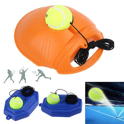 Tennis Training Exercise Tool Ball Baseboard Self Study Rebound Sparring Device