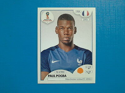 Figurine Panini World Cup Russia 2018 n.205 Paul Pogba France