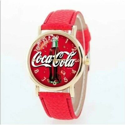 Coca Cola Vintage Digital Quartz Watch Coke is IT! Logo Collectible