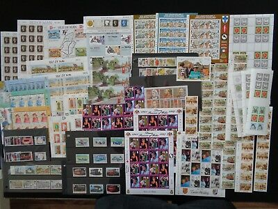 Isle Of Man £74 Face Value Mint Mnh Stamps For Postage Or Collector Good Items