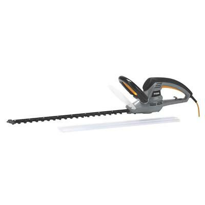 Corded Hedge Cutter Titan Trimmer 60Cm 550W 230V 6M Cable Length Garden Tools