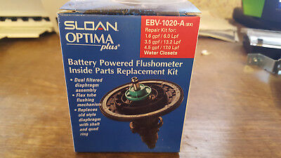 Sloan Battery Powered Flushometer Inside Parts Replacement Kit EBV-1020-A