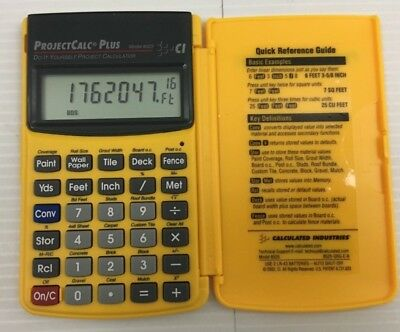 ProjectCalc Plus Project Calculator For Construction 8525 Calculated Industries