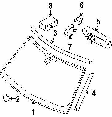 windshields glass car truck parts parts accessories ebay 1980 El Camino Wiring-Diagram land rover lr046846 moulding a p 4