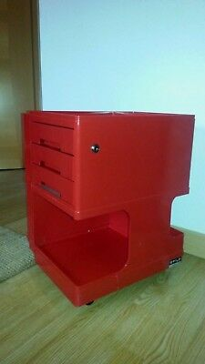 Rot/Red Style Design Stile Neolt Italy Creativ Roll-Container (Boby Colombo)