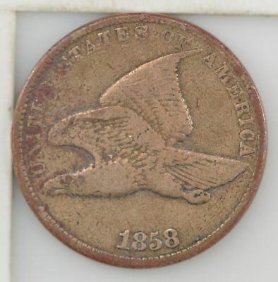 1858 Flying Eagle One Cent *269