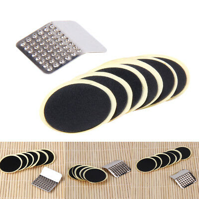 Cycling Bicycle Bike Puncture Patches Repair Kit Tire Tyre Tube Glue-less