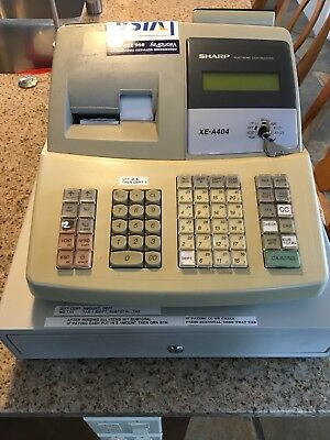Sharp Xe-A404 Electronic Cash Register Programmable