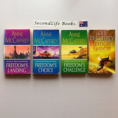 THE CATTENI SEQUENCE (Freedom Series) ~ Anne McCaffrey. Science Fiction. Lot 2.