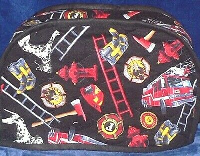 Quilted Toaster Cover Fireman Made to Order SEND YOUR MEASUREMENTS!!