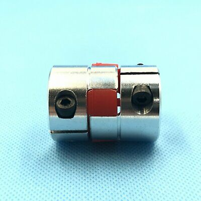 1 of Jaw Shaft Coupling Spider Flexible Coupler 10mm x 15mm D30 L40 [DORL_A]
