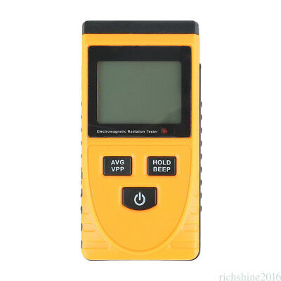 Electromagnetic Radiation Detector Digital Meter Dosimeter Test Counter Geiger L