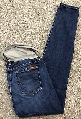 7 for All Mankind Womens Jeans Pants (28 x 30, Maternity, Secret Fit Belly) G