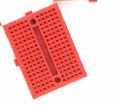 10Pcs Red Solderless Prototype Breadboard 170 SYB-170 Tie-points [DORL_A]
