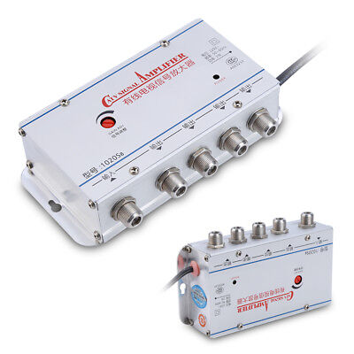 20DB CABLE TV ANTENNA Booster Signal Amplifier Splitters