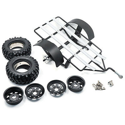 Bike and Quad Trailer for 1:10 RC  Crawlers Vaterra Axial Komodo Gmade