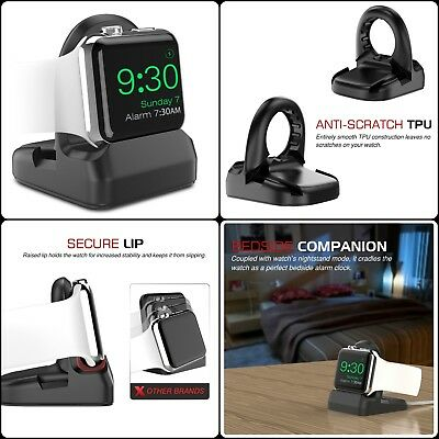 Watch Stand Charging Station Dock Accessories For Apple iWatch Series 3/2/1