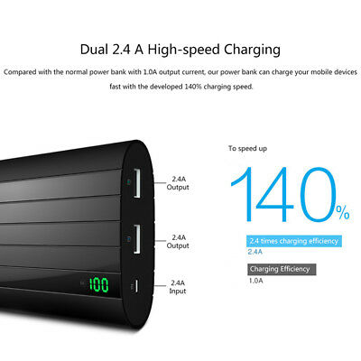 Vinsic Portable Power Bank 20000mAh Super-large Capacity Rechargeable Power Bank