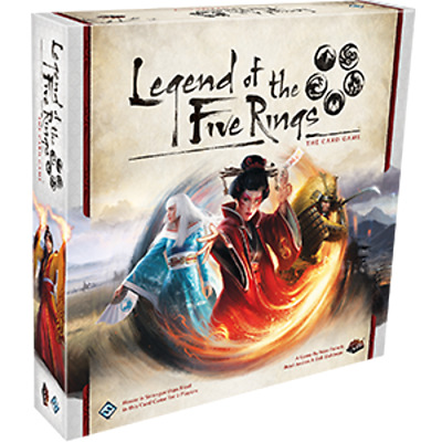 Fantasy Flight Games FFGL5C01 Legend of The Five Rings Card Game BNIB