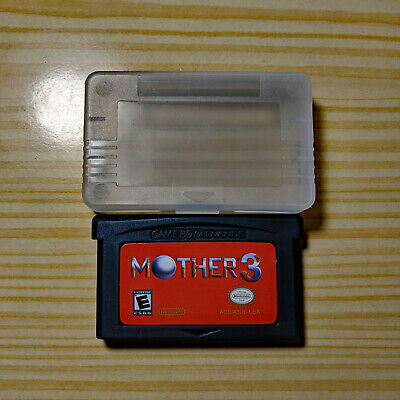 Mother 3 Nintendo Game Boy Advance GBA Cart w/ Protector English (Earthbound)