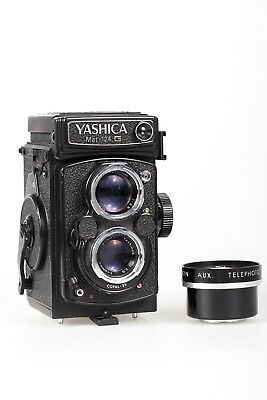 Yashica MAT-124 G 6X6 TLR Excellent Cosmetic Condition READ DESCRIPTION!