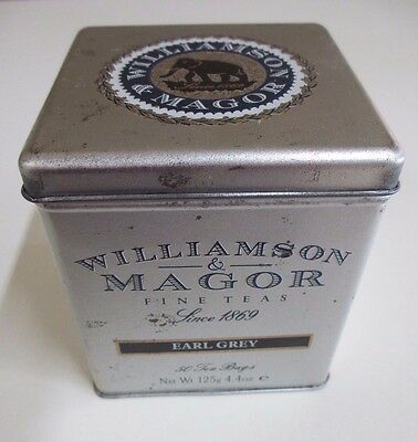 Vintage Williamson and Magor Earl Grey Tea Tin - 125 grams - 1989