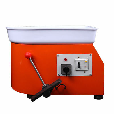 25CM 250W Pottery Wheel Ceramic Machine For Ceramic Work Clay pottery mold 220V