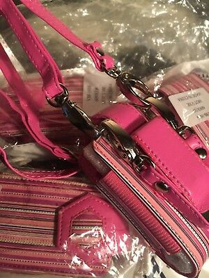 200 Pink Cellphone, Hand Sanitizer Cases With Neckstraps. New Unopened Packages