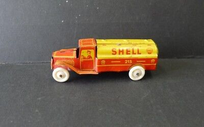 Penny Toy Shell Tankwagen, Georg Fischer Nr. 215, Made in W. Germany  !