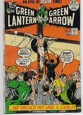 Green Lantern Green Arrow 89 Denny O'neil Neal Adams 52 Page Giant Sized Issue