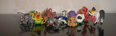 Digimon Set 10 Figuren Unimon Tyrannomon Drimogemon Gesomon Digitamamon Figur