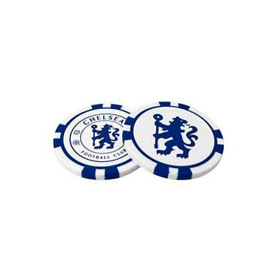 Chelsea FC Poker Chip Ball Markers Football Club Supporter GOLF BIRTHDAY PRESENT