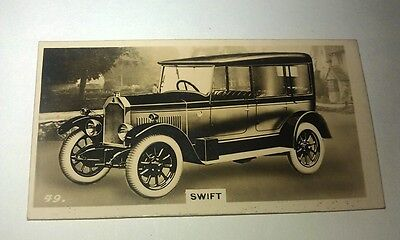 SWIFT 10hp  -  Wills New Zealand Real Photo Cigarette Card Issued 1926