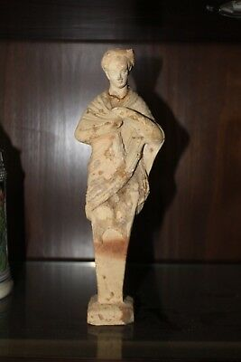 Ancient Greek Terracotta Goddess Figurine, Hellenistic period around 750 BC