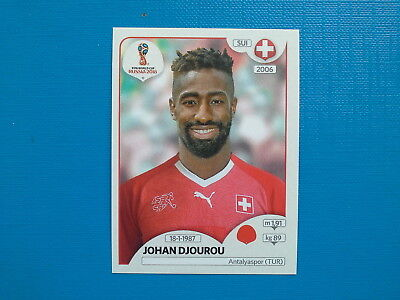 Figurine Panini World Cup Russia 2018 n.379 Johan Djourou Switzerland