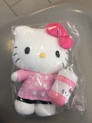 Hello Kitty Cafe Truck plush limited edition brand new sealed sold out