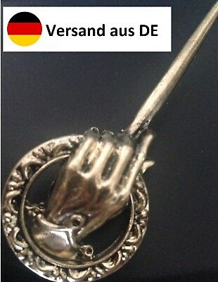 GAME OF THRONES Staffel Pin Hand des Königs of the King Brosche Anstecknadel