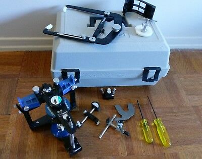 PANADENT ARTICULATOR (PSH magnetic): w/ facebow & carrying box - VERY GOOD cond