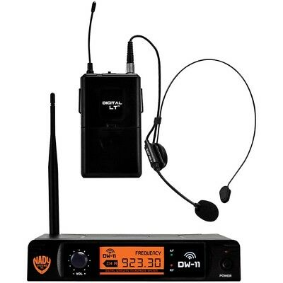 Nady(R) Dw-11-Hm-Any Single-Channel Digital Wireless Microphone System (Digital