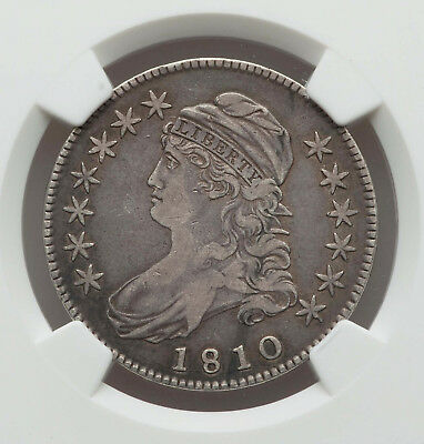 1810 Capped Bust Half - NGC Graded VF - 30 - Great Old Coin