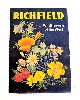 Vintage Richfield Oil Gas Station Wildflowers of the West Seed Packet