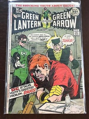 Green Lantern #85 ( Sep 1971, DC) **Fighting Drugs Issue**