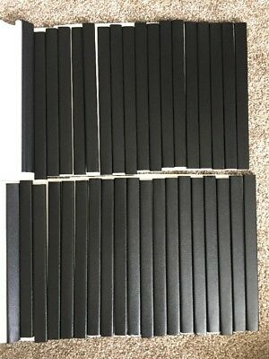 Unibind 21mm Black Steel Back Spines 16210LS21BA - Lot Of 38 - Perfect Condition