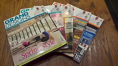Five Copies of Grand Designs Magazines April to Aug 07