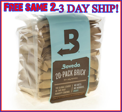 Boveda Humidity Pack 2 Way Control Moisture Pack