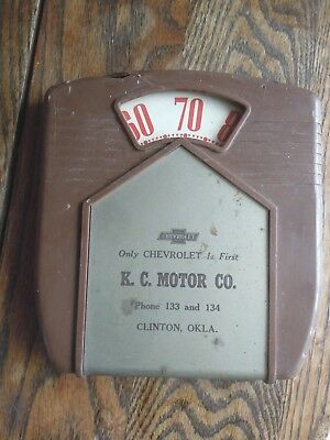 Vintage Chevrolet Advertising Wall Hanger  B&b Remembrance Brown & Bigelow