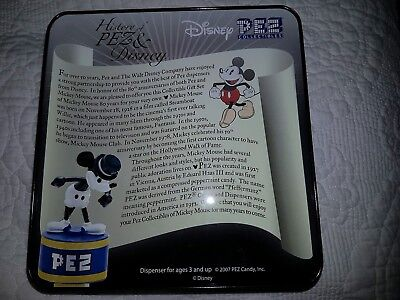 PEZ Collectibles Disney Mickey 80 Years Collector's Tin