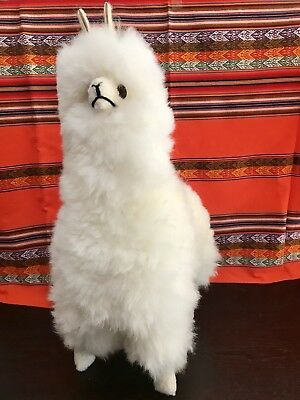 New 18 Big Large Llama Stuffed Animal Figurine Alpaca Toy Fur